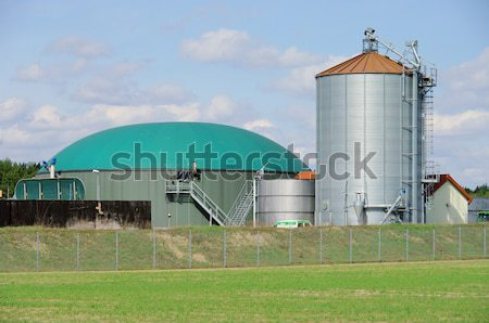 biomass plant 04 Stock photo © LianeM