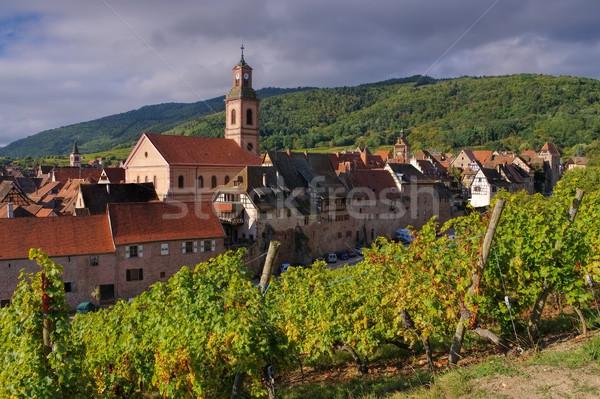 town Riquewihr in Alsace, France Stock photo © LianeM