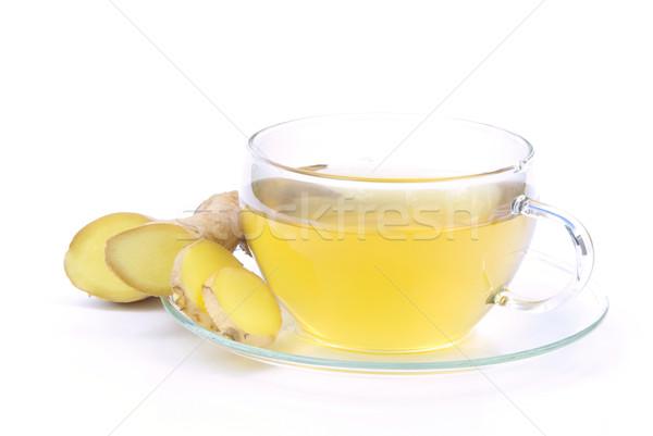 tea ginger 07 Stock photo © LianeM