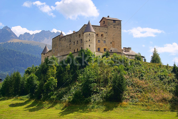 Nauders castle 01 Stock photo © LianeM