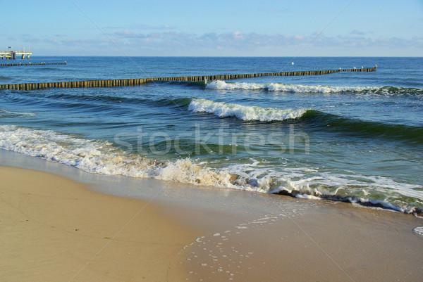 Mar báltico praia 13 natureza azul viajar Foto stock © LianeM