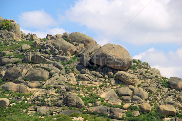 Valencia de Alcantara granite rock landscape 31 Stock photo © LianeM