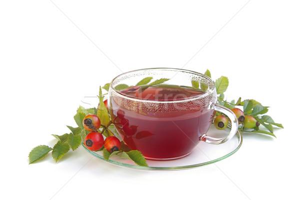rose hip tea 01 Stock photo © LianeM