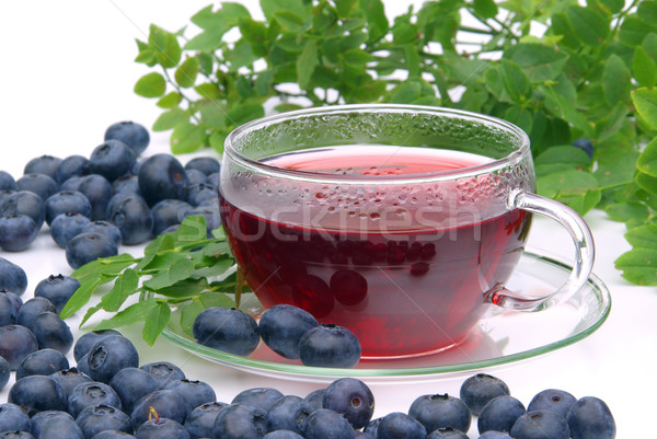 blueberry tea  Stock photo © LianeM