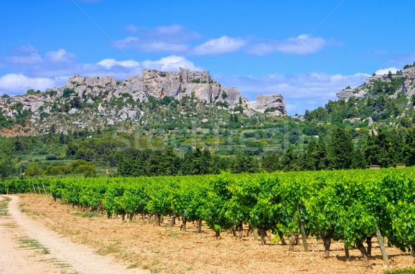 Les Baux-de-Provence  Stock photo © LianeM
