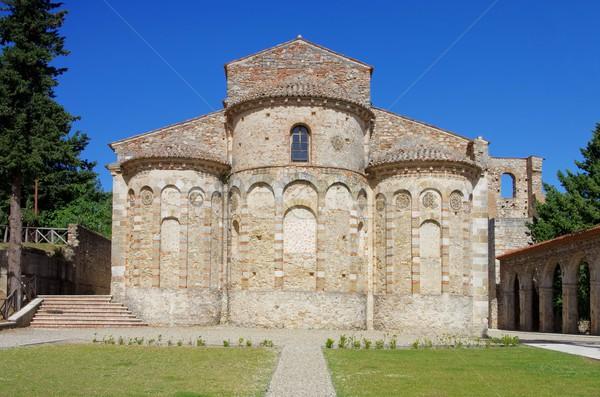 Rossano Santa Maria del Patire  Stock photo © LianeM