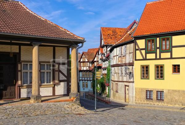 Quedlinburg old town  Stock photo © LianeM