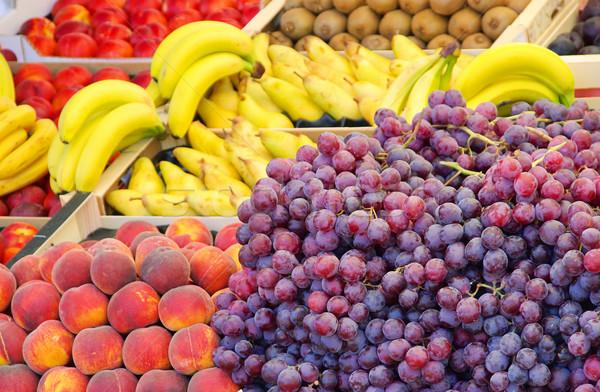 Obstmarkt - fruit market 01 Stock photo © LianeM