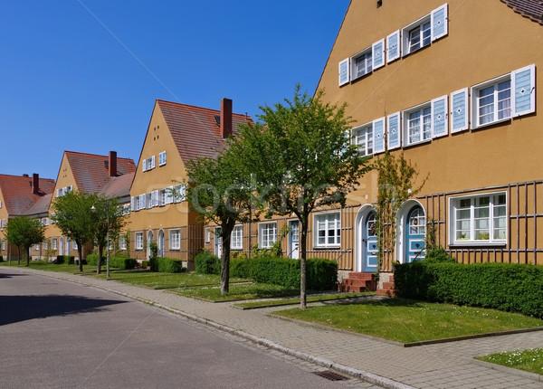 Wittenberg, garden city Piesteritz Stock photo © LianeM
