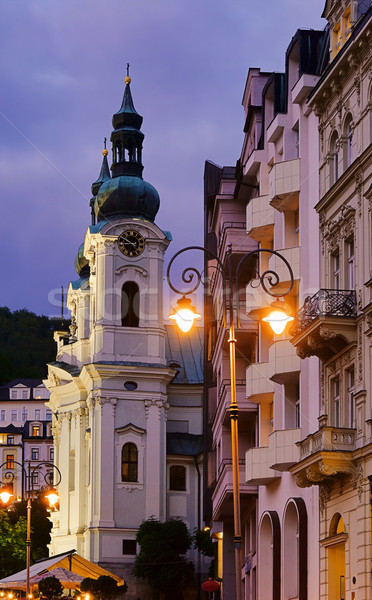 Karlovy Vary Maria-Magdalena church 01 Stock photo © LianeM