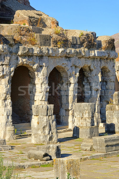 Capua amphitheatre 07 Stock photo © LianeM