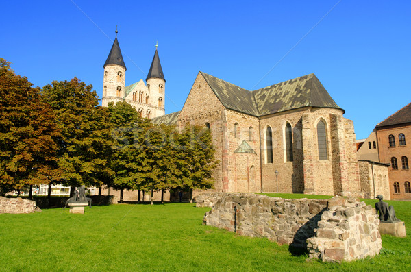 Magdeburg abbey 01 Stock photo © LianeM