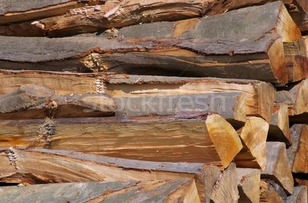 stack of wood  Stock photo © LianeM