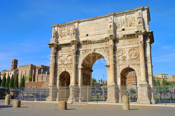 Rome Arch of Constantine 01 Stock photo © LianeM
