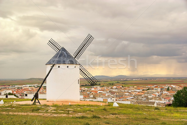 Campo de Criptana windmill 04 Stock photo © LianeM