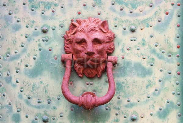 door knocker  Stock photo © LianeM