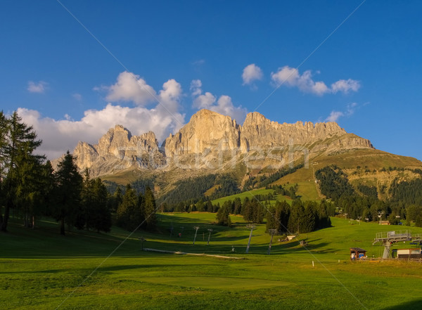 Rosengarten group in Alto Adige Stock photo © LianeM