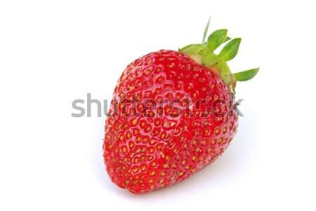 strawberry isolated 01 Stock photo © LianeM