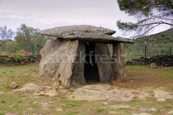Paisaje montana rosas Celtic misterio España Foto stock © LianeM