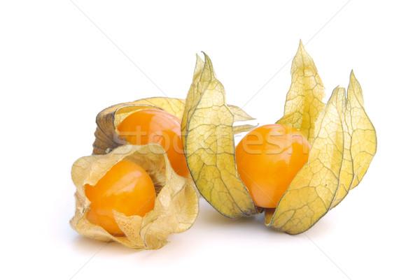 12 étel gyümölcs narancs gyümölcsök kínai Stock fotó © LianeM