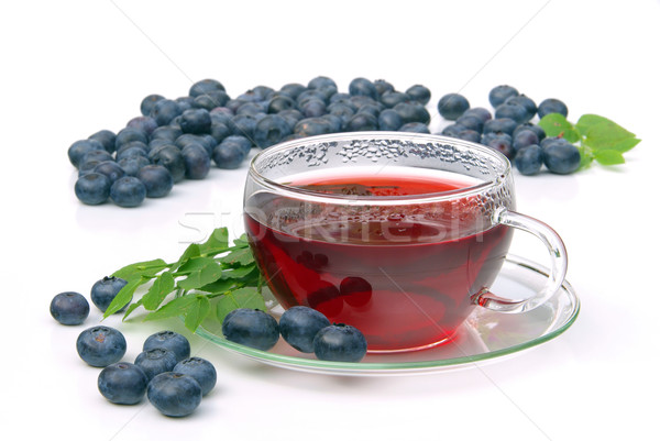 blueberry tea 16 Stock photo © LianeM