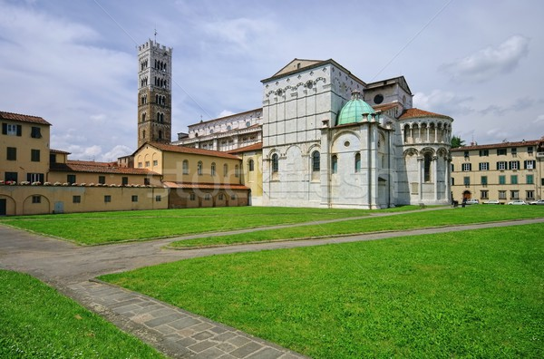 Lucca cathedral  Stock photo © LianeM