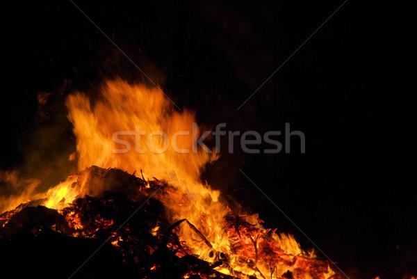 Walpurgis Night bonfire 24 Stock photo © LianeM