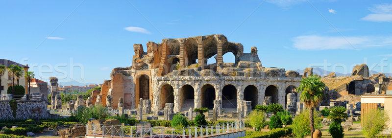 Capua amphitheatre 11 Stock photo © LianeM
