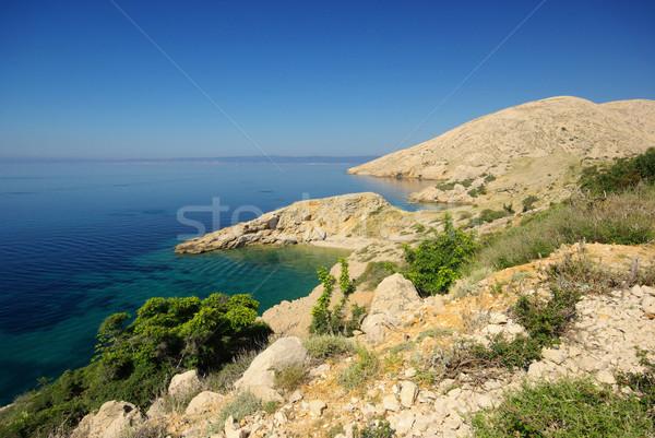 Plaży 22 wody krajobraz górskich niebieski Zdjęcia stock © LianeM