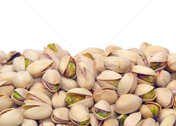 Pistacho frutas frutas Shell aislado Foto stock © LianeM