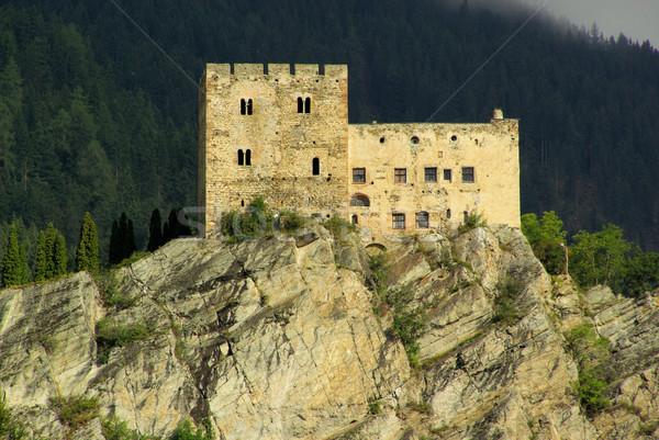 Ladis castle Laudegg 03 Stock photo © LianeM