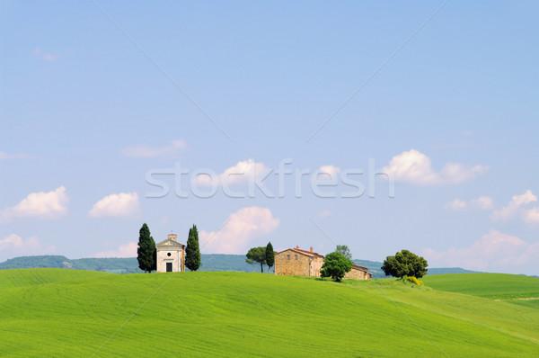 Tuscany chapel 02 Stock photo © LianeM