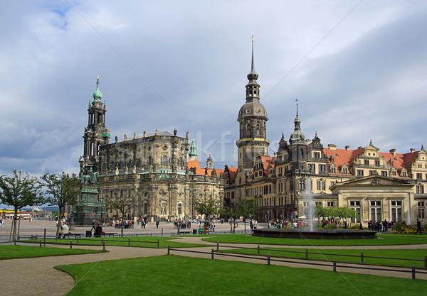 Dresden old town 07 Stock photo © LianeM