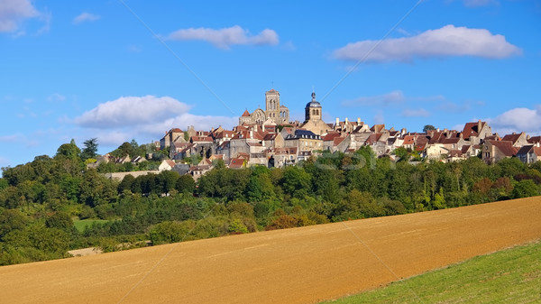 the town Vezelay, Burgundy Stock photo © LianeM