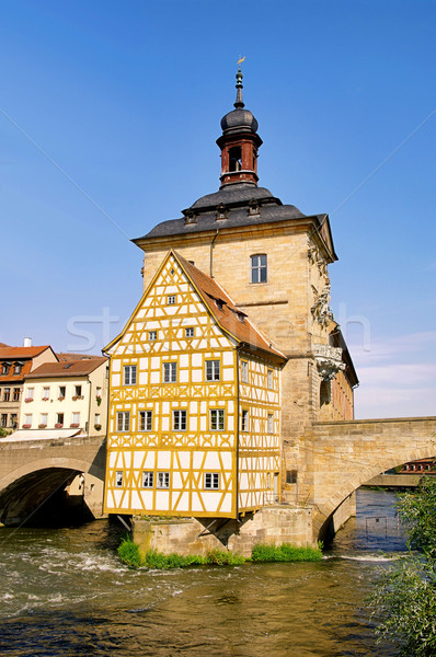 Bamberg townhall 01 Stock photo © LianeM