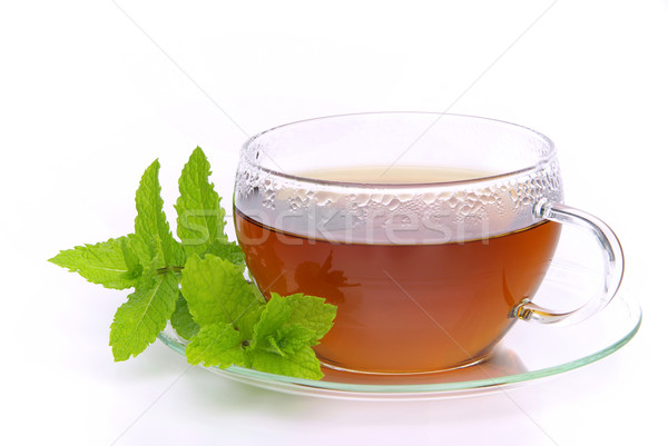 tea Peppermint 02 Stock photo © LianeM