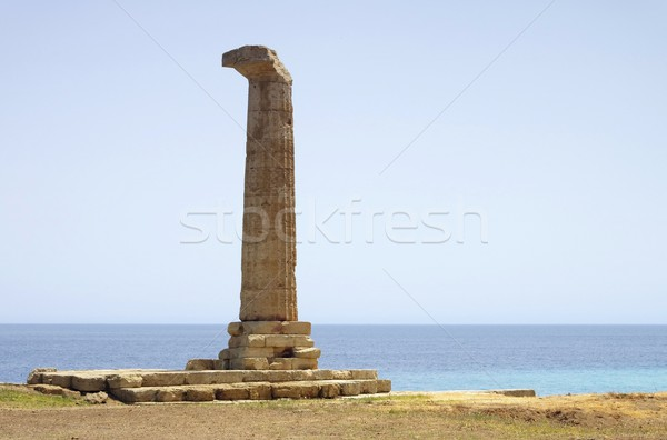 Capo Colonna column  Stock photo © LianeM