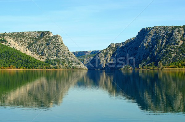 Visovac lake  Stock photo © LianeM