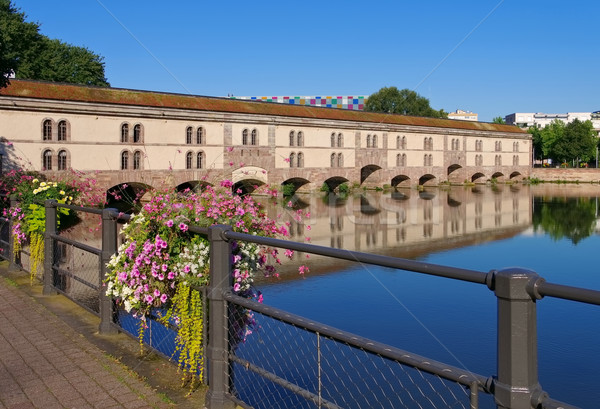 Barrage Vauban in Strasbourg, Alsace Stock photo © LianeM