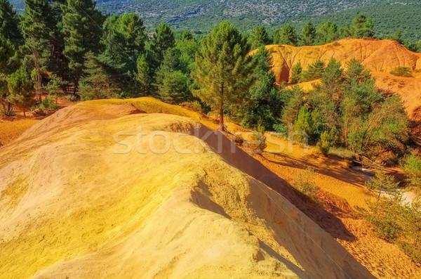 Rustel Colorado, Provence Stock photo © LianeM