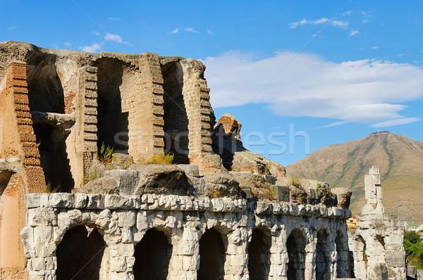 Capua amphitheatre 05 Stock photo © LianeM