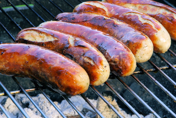 barbecue bratwurst 01 Stock photo © LianeM