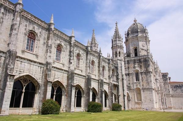 Lisbon Jeronimos Monastery 06 Stock photo © LianeM
