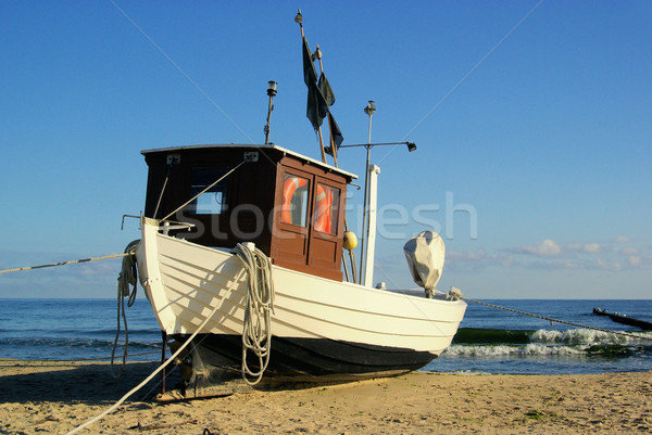 fishing cutter on the beach  Stock photo © LianeM