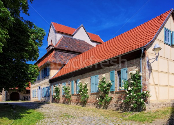 Thale Wendhusen abbey  Stock photo © LianeM