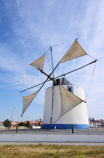 Castro Verde windmill 01 Stock photo © LianeM