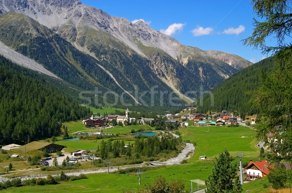 Sulden in South Tyrol Stock photo © LianeM