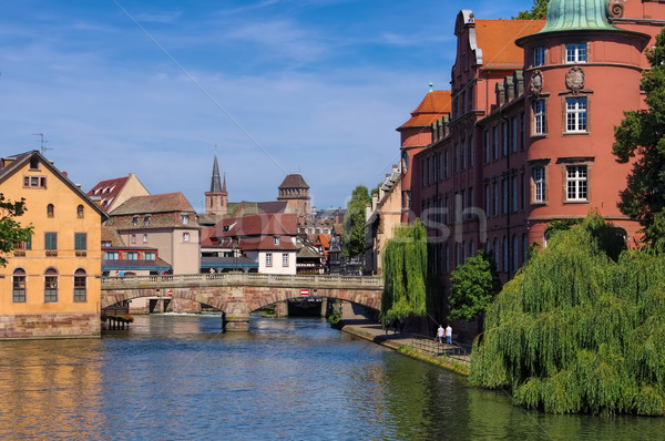 Strasbourg Petite France in  Alsace Stock photo © LianeM
