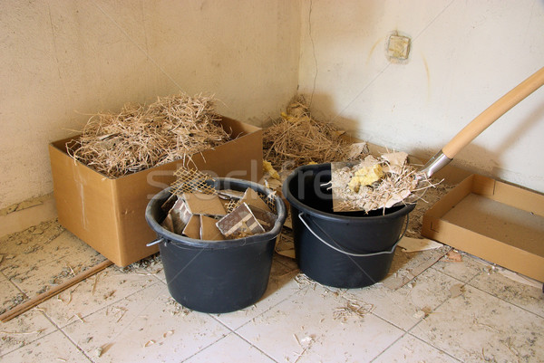 construction waste 04 Stock photo © LianeM