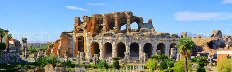Capua amphitheatre 09 Stock photo © LianeM